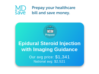 cost of epidural steroid injection without insurance